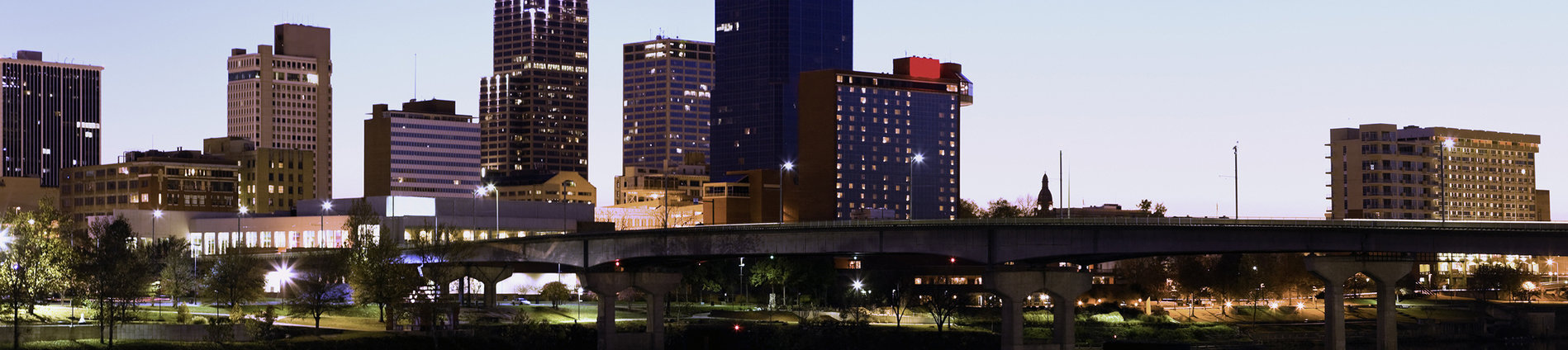 Little Rock, Arkansas City Skyline